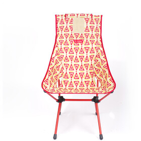 Helinox Sunset Chair, triangle red/red